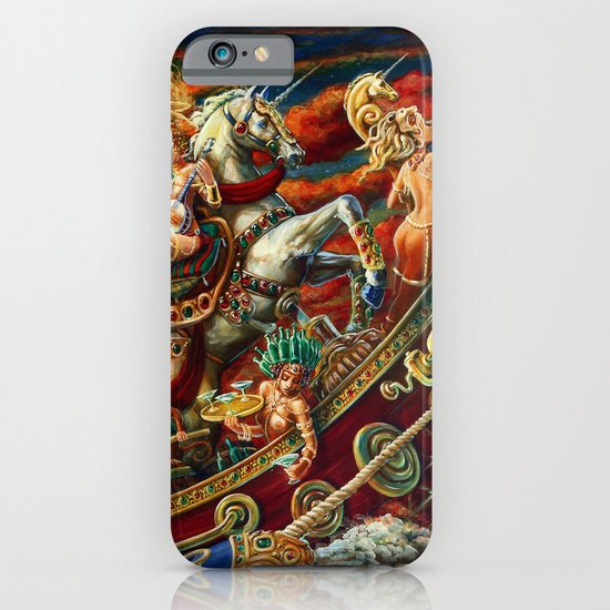 Party Boat to Atlantis iPhone & iPod Case
