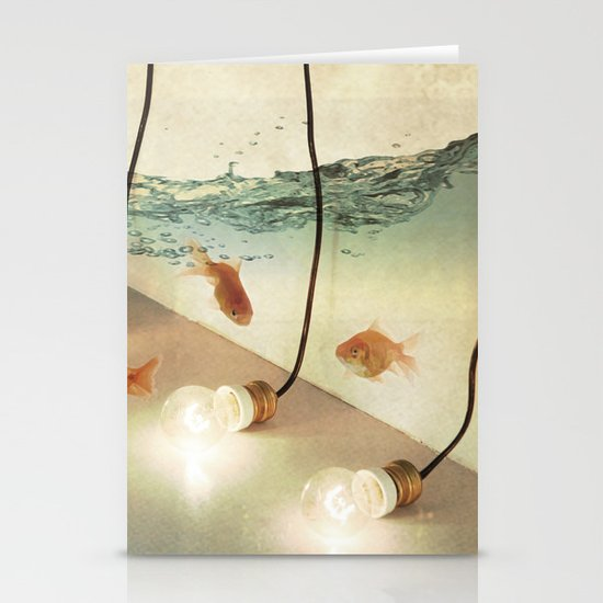 ideas and goldfish Stationery Card