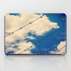 Sky Lights Inspiration iPad Case