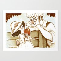 Applebloom Art Print