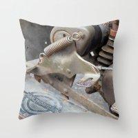 Rusty Harley Throw Pillow