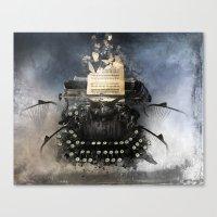 Piandemonium - Writers' … Canvas Print