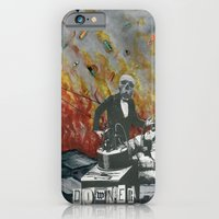 iPhone & iPod Case featuring Complimentary Anesthetics amidst firebomb and spiritual tranquilizer raid. by oldsilverwargun