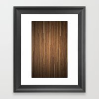 Wood #2 Framed Art Print