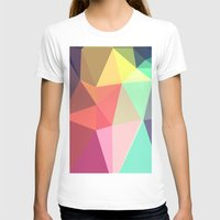 abstract T-shirts featuring peace by contemporary