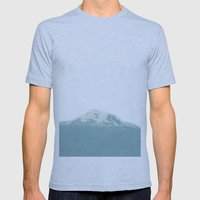 Portland Snowcaps Mens Fitted Tee Athletic Blue SMALL