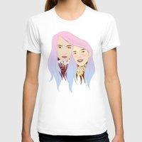 girls T-shirts featuring Girls by podborski