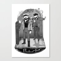U-boat  Canvas Print