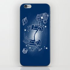 Adventures in Space/Time iPhone & iPod Skin