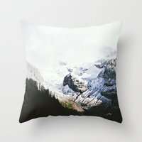 Mountain Valley Contrast Throw Pillow