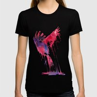 The great emerge Womens Fitted Tee Black SMALL