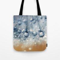 Sea Blue Dandy Tote Bag