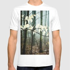 Dreams of the Sun on a Rainy Day White Mens Fitted Tee SMALL