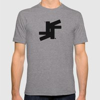 TSF Logo Mens Fitted Tee Athletic Grey SMALL