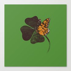 By Chance - Green Canvas Print