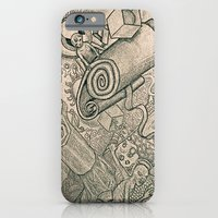 iPhone & iPod Case featuring overthinking by ASTRA ZERO
