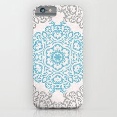 Glitters and Mandala Pattern Slim Case iPhone 6s