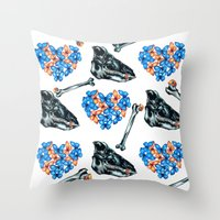 Love & Money Throw Pillow
