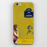Woody's on a wall iPhone & iPod Skin