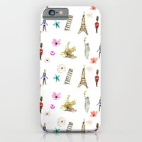 Travelling Fleur iPhone 6 Slim Case