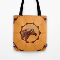 HORSE - An Appaloosa Cal… Tote Bag