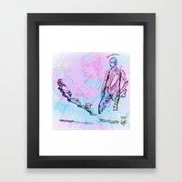 John And The Jackdaw Framed Art Print