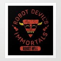 Bad Boy Club: Robot Devi… Art Print