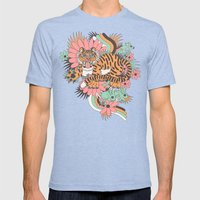 Frolic! Mens Fitted Tee Tri-Blue SMALL