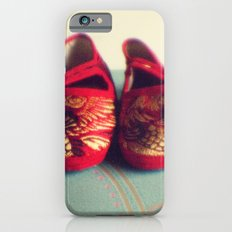 Two red shoes iPhone 6s Slim Case