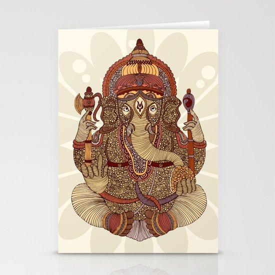 Ganesha: Lord of Success Stationery Card