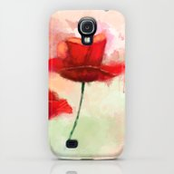 iPhone & iPod Case featuring Red Poppy Watercolor Pai… by Thubakabra