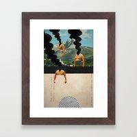 The Noon Guns (Back) Framed Art Print