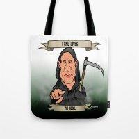I End Lives (Vin Diesel) Tote Bag
