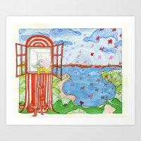 De Dónde Vienen Las Mar… Art Print