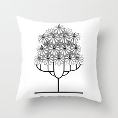 Tree Collection -1 Throw Pillow