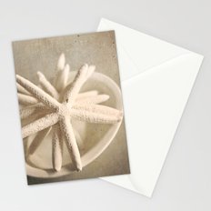 starfish in a bowl Stationery Cards