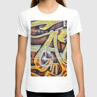 graffiti T-shirts featuring Graffiti by Fine2art
