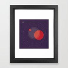 RADIATA Framed Art Print