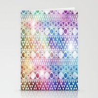 Tribal Stardust  Stationery Cards
