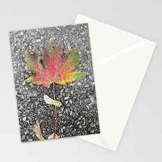 An Autumn Leaf Stationery Cards