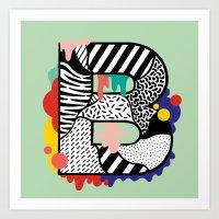 B for ... Art Print