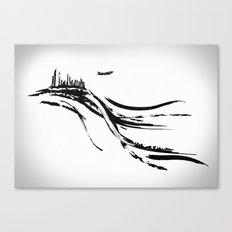 Transfert Canvas Print