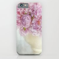 iPhone & iPod Case featuring dreamy peonies by Lizzy Pe