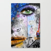 She's Well Acquainted Canvas Print
