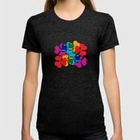 BP 85 Clover Womens Fitted Tee Tri-Black SMALL