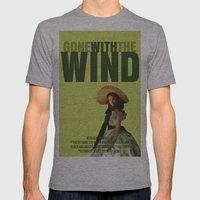 Gone With The Wind Mens Fitted Tee Athletic Grey SMALL