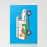 2 Bros. Plumbing Van Stationery Cards