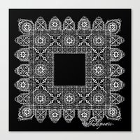 Shakespeare's Lace Canvas Print