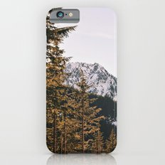 Snow Mountain in the Trees iPhone 6 Slim Case