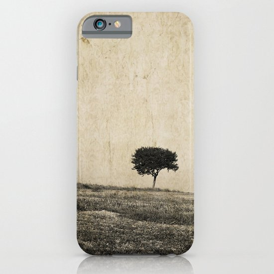 lonely tree iPhone & iPod Case
